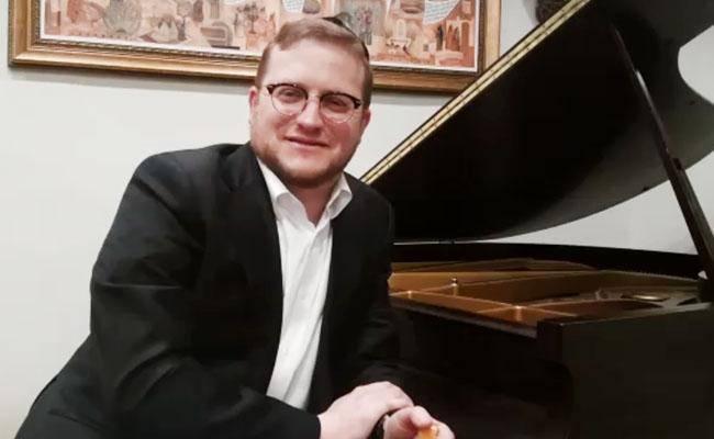 ברוך לוין בראיון לכיכר מוזיקה (צילום: כיכר השבת)