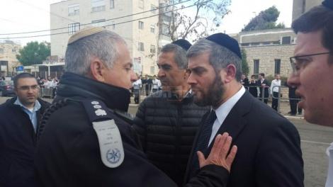 """סגר""""ע ירושלים ישראל קלרמן בשיחה עם ממ""""ר מוריה"""