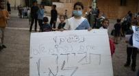 """מחאה במעלות דפנה: """"מסכנים את חיינו"""""""