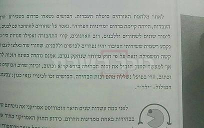 (צילום הדברים בספר: טלי פרקש, ynet)