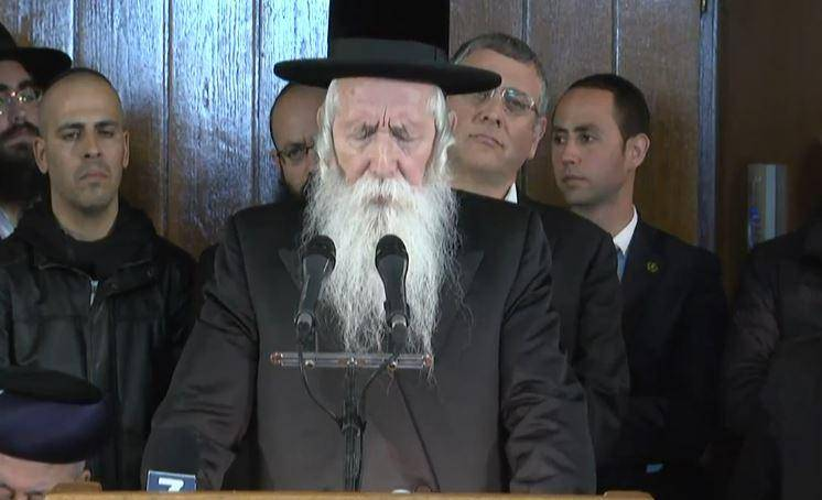 הגאון רבי יצחק דוד גרוסמן סופד