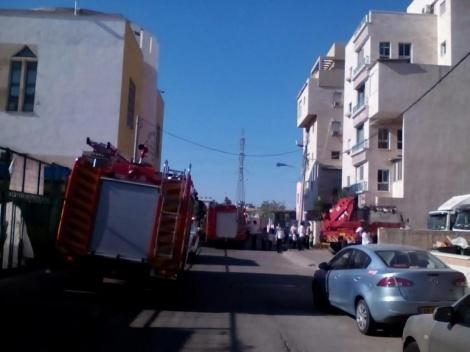 זירת האירוע בבני ברק (צילום: חדשות 24)