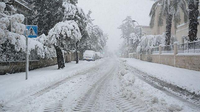 ירושלים התעוררה לבוקר לבן ומושלג