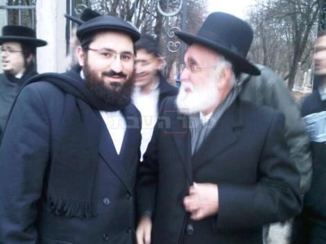 הרב אליעזר קסטנבוים והרב הלל כהן