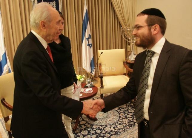 """חרד למצב. נשיא המדינה בהצהרה ל""""כיכר השבת"""" (צילום: יוסף-אבי-יאיר אנגל)"""