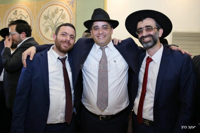 סגני ראשי העיר נתן אלנתן ויהודה עוביידי
