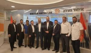 """מ""""מ וסגן ראש עיריית ירושלים הרב אליעזר ראוכברגר  במטה ובמוקד איחוד הצלה"""