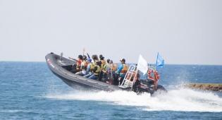 שייט אתגרי. סירות טורנדו מהירות.  - טרק ים אכזיב - חווית אקסטרים וספורט ימי בצפון