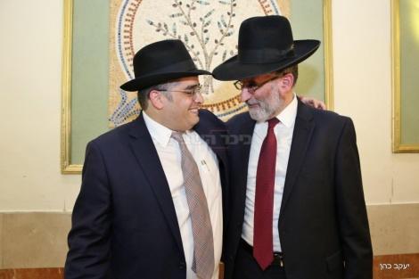 חבר מועצת העיר י-ם חיים כהן