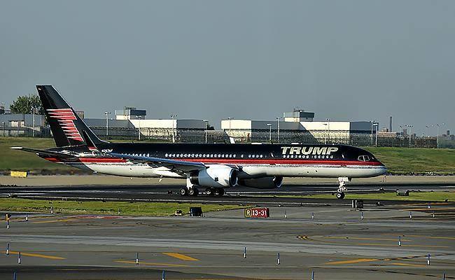 המטוס הפרטי של טראמפ (צילום: שאטרסטוק)