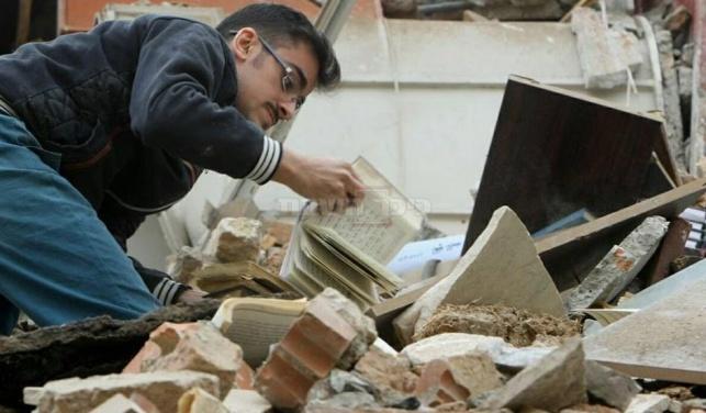 פרסום ראשון: בית כנסת בטהרן נהרס 'בטעות'