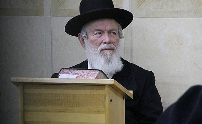 הרב יצחק זילברשטיין (צילום: בעריש פילמר)