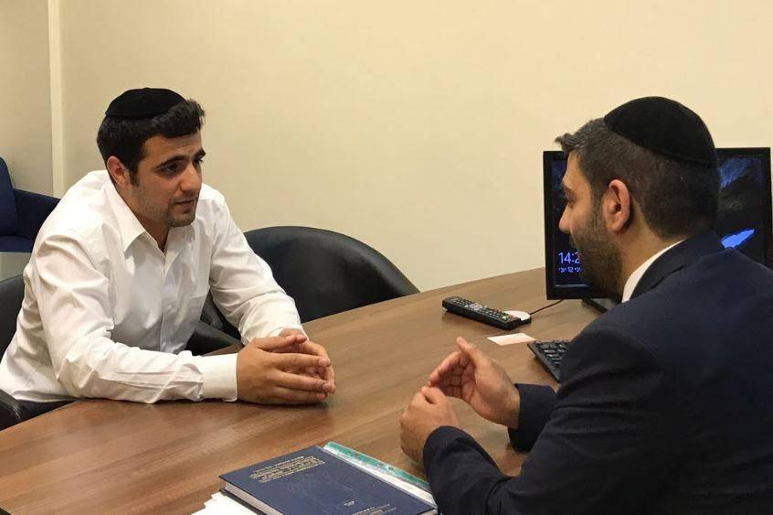 ח''כ מלכיאלי בראיון לכתב כיכר השבת ישי כהן