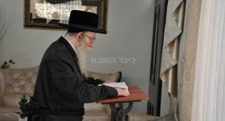 הרבי של אנטוורפן הגיע לישראל