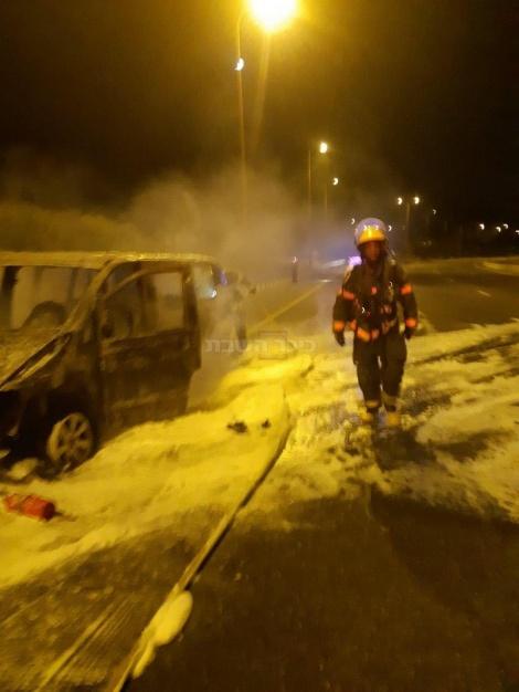 מהתאונה (צילום: דוברות כבאות והצלה תחנה איזורית בית שמש)