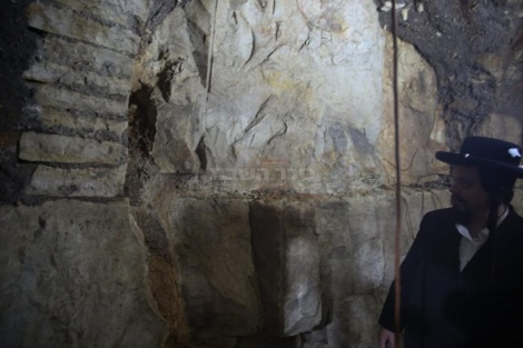 גילוי המערה צילום: חיים גולדברג, 'כיכר השבת'