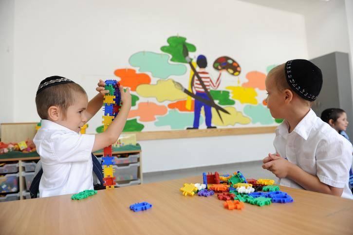 התפתחות הילדים מתחילה מתזונה נכונה. אילוסטרציה. צילום: Mendy Hechtman/POALEI MENAHEM/Flash9