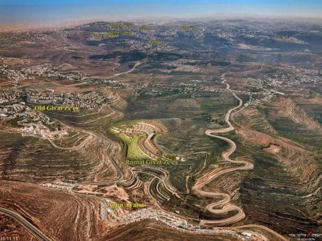 הקרבה לירושלים מחד, והנופים המשכרים מאידך