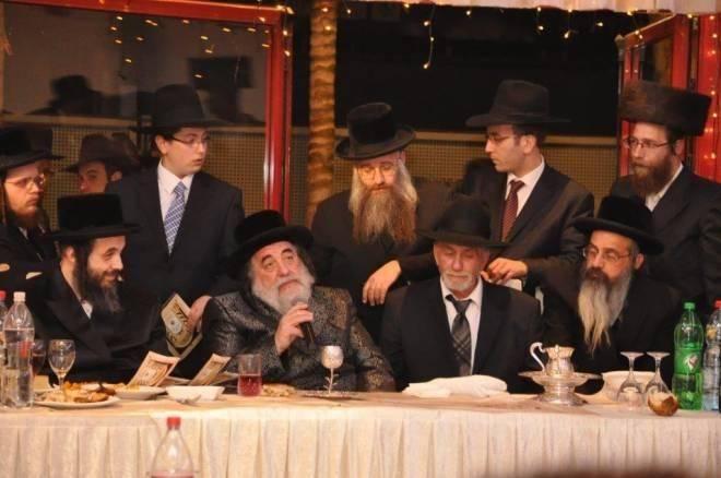 רבי יהודה אפשן ז''ל עם האדמו''ר מויז'ניץ