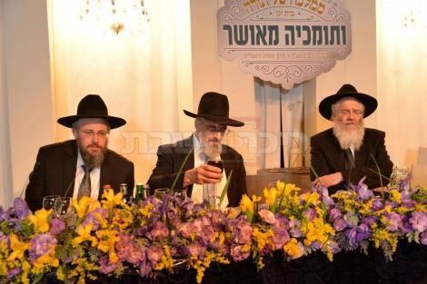 הרב דניאל וולפסון והרב ברוך נויבירט