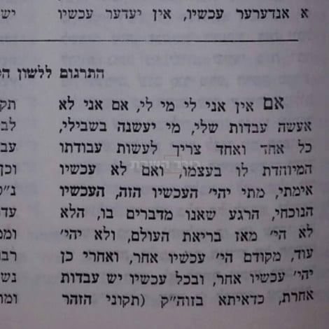 """צילום מתוך הספר """"החידושי הרי""""ם"""" (צילום: מתוך דף הפייסבוק של דרור פויר)"""