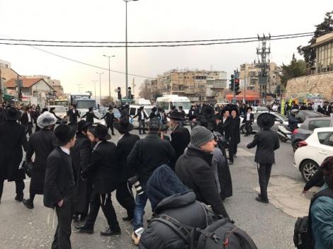 מפגינים בירושלים (צילום: כיכר השבת)