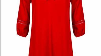"""רנואר שמלת סולמות 169.90 ש""""ח. צילום: אלעד חזקי"""