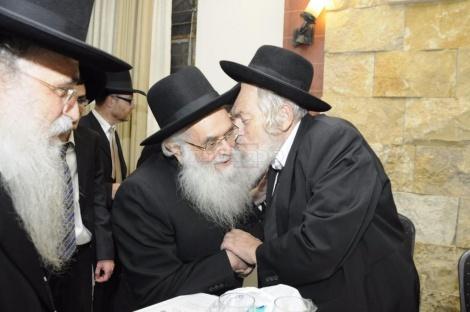 עם הגאון רבי יונתן דייויד ראש ישיבת פחד יצחק