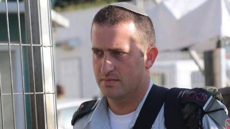 סא''ל דוד שפירא בבית הדין (צילום: מוטי קמחי, ynet)