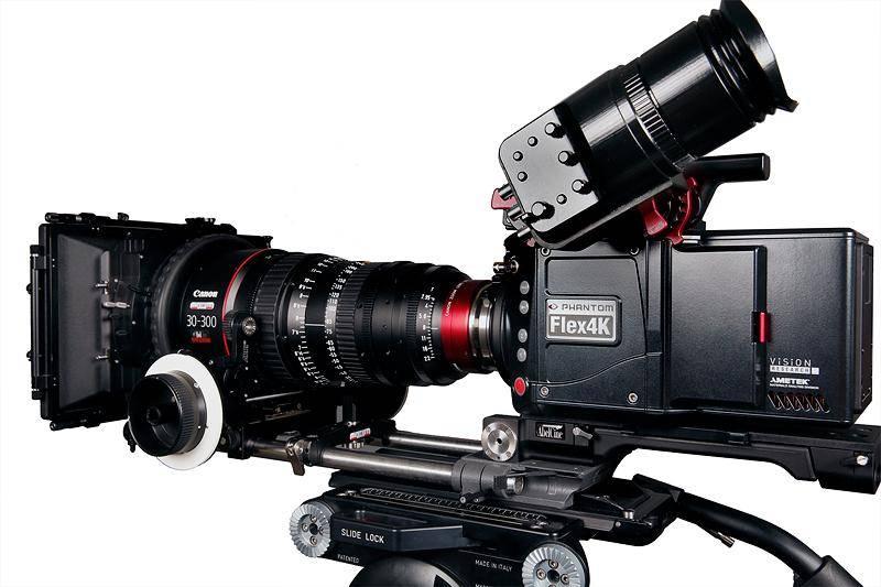 מצלמת PHANTOM FLEX 4K (צילום: אתר החברה)