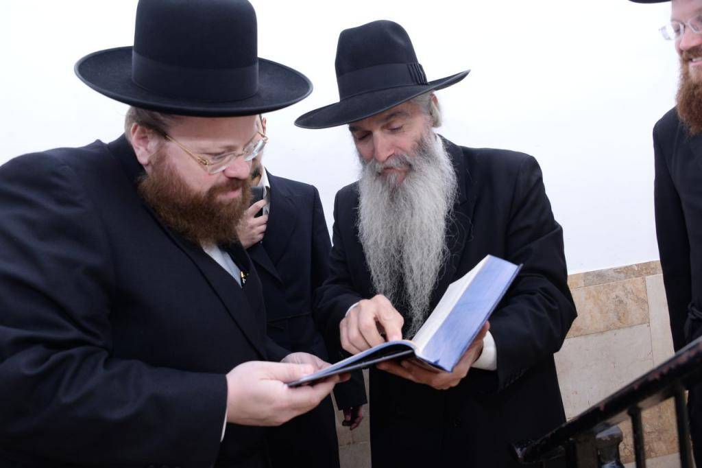 גשייד עם האדמו''ר רבי דוד אבוחצירא