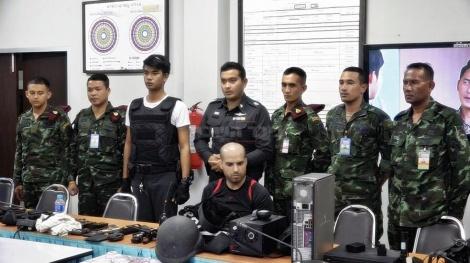 המעצר של נתי חדד (צילום מתוך khaosod.co.th)