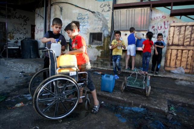 משבר המים בעזה  (צילום:עבד רחים כאתיב, פלאש 90)