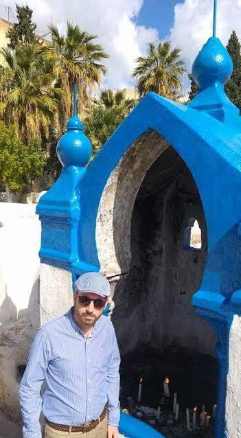 כתב ''כיכר השבת'' משה פריגן בפאס (צילום: )