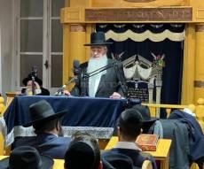 """יהודי צרפת בעצרת מספד לגר""""נ קרליץ"""
