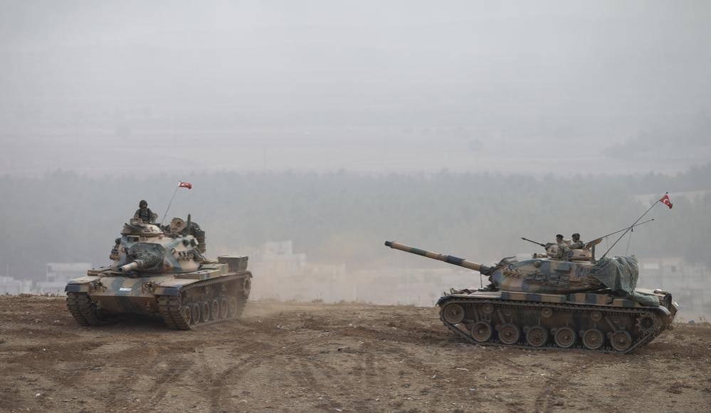 טנקים טורקים בעיראק (צילום: שאטרסטוק)