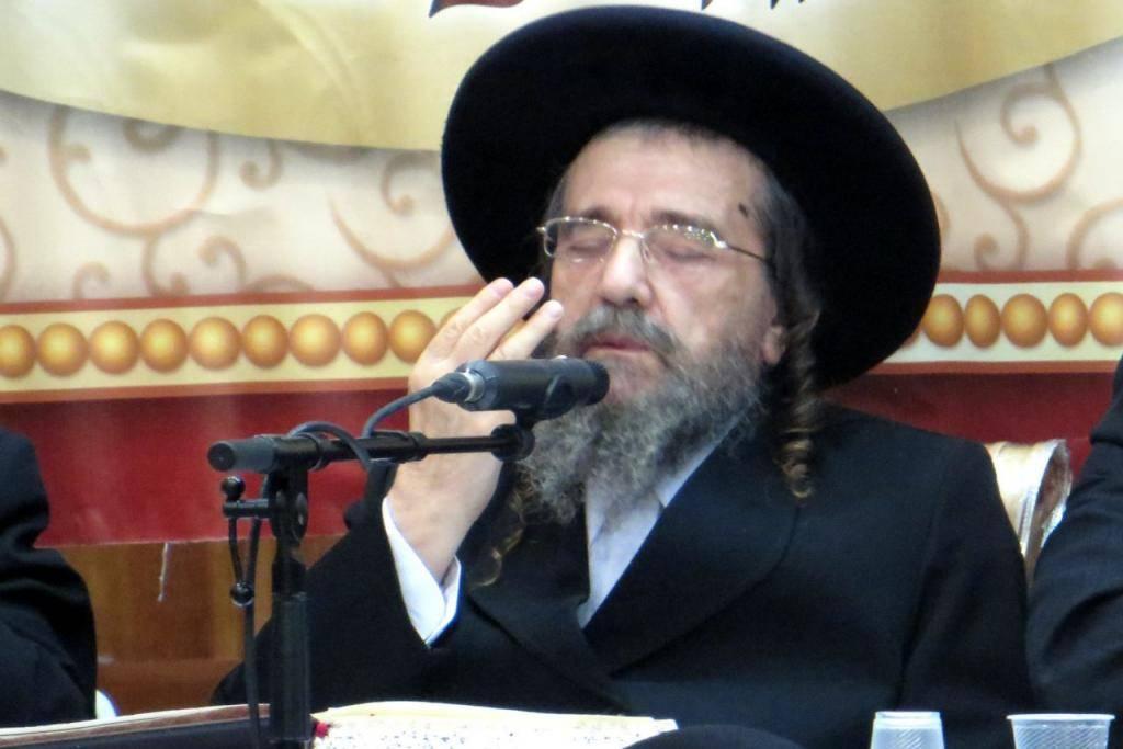 הגאון רבי יעקב מאיר שכטר, בין החותמים על המכתב (צילום: נחמן שלום)