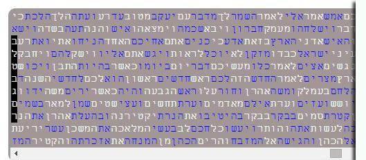 הרמז בתורה (צילום: משה שי - פלאש90)