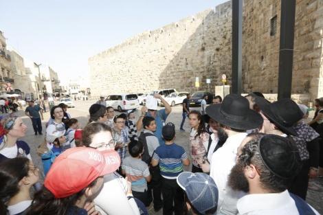 פרוייקט בשבילי ירושלים.