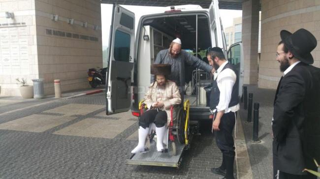 משוחרר מבית החולים