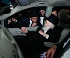 מרן שר התורה במטה איחוד הצלה בירושלים