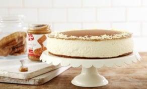 עוגת לוטוס, גבינה ושוקולד לבן. - שבועות: מתכון לעוגת לוטוס, גבינה ושוקולד לבן