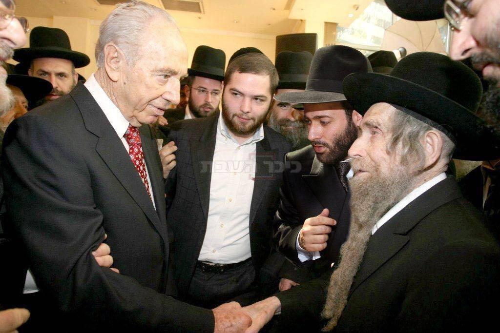 פרס בפגישתו עם מרן הרב שטיינמן לפני כעשור