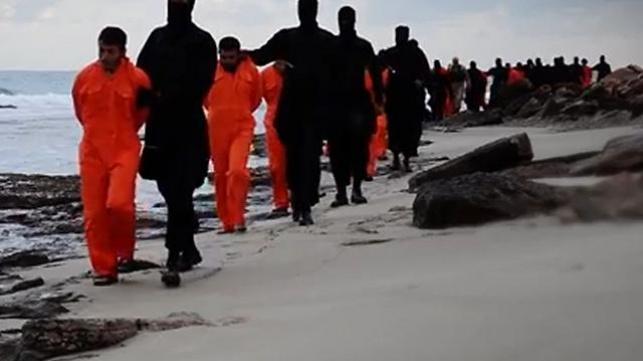 זוועות דאעש: החוף הלובי נצבע בדם