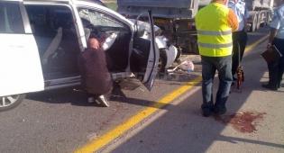 בני משפחה חרדית נפצעו בתאונת דרכים