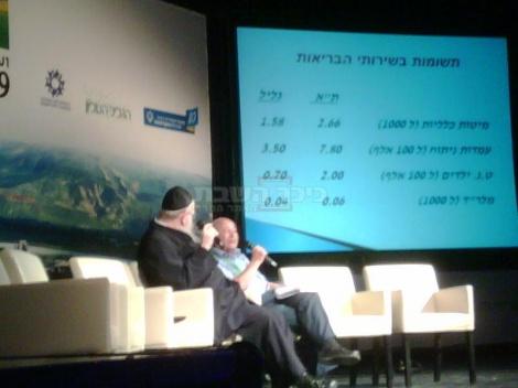 ליצמן בוועידה, אתמול