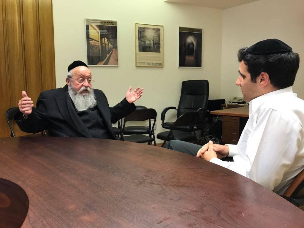 ח''כ מוזס בראיון לכתב כיכר השבת ישי כהן