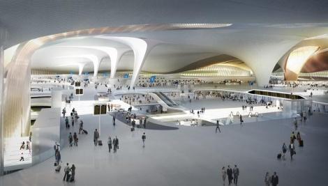 שדה התעופה הגדול בעולם, מבט מבפנים