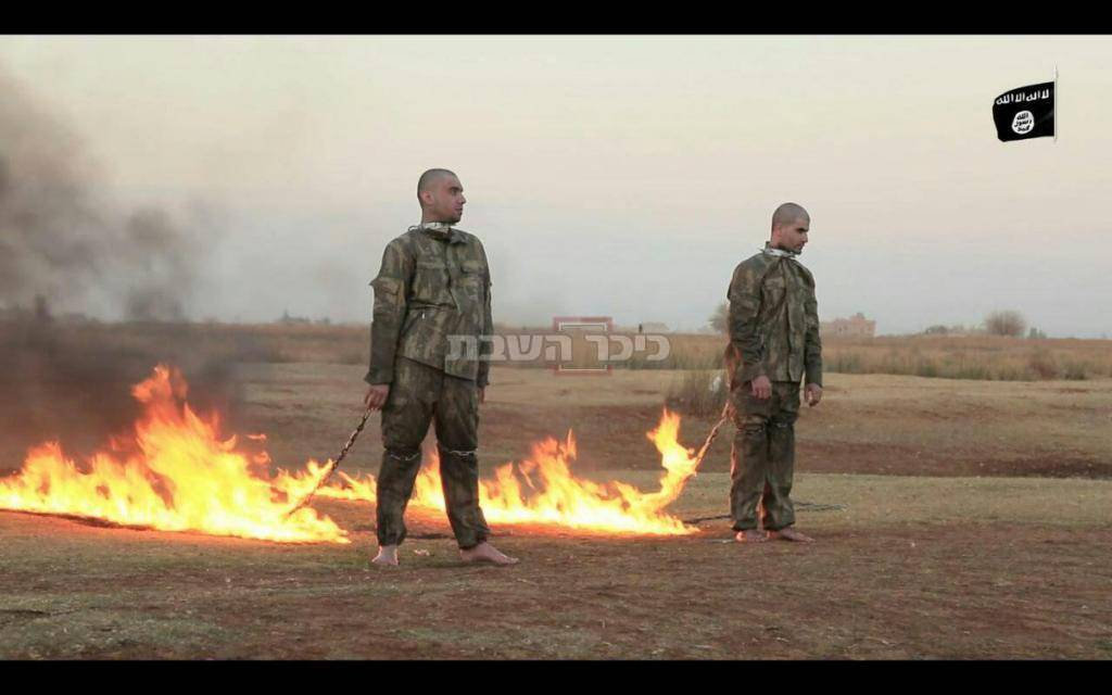 החיילים הטורקים, רגע לפני (צילומסך: מתוך @RamiAILoIah בטוויטר)