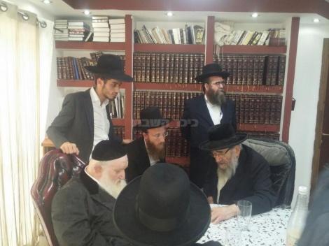 פגישת הרבנים (באדיבות המצלם)